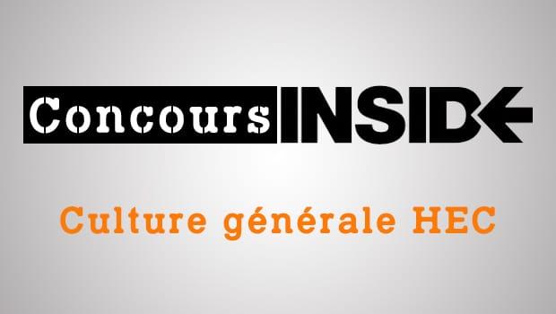Culture générale HEC 2016 – Analyse du sujet