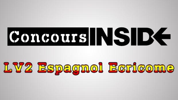 LV2 Espagnol Ecricome 2016 – Analyse du sujet