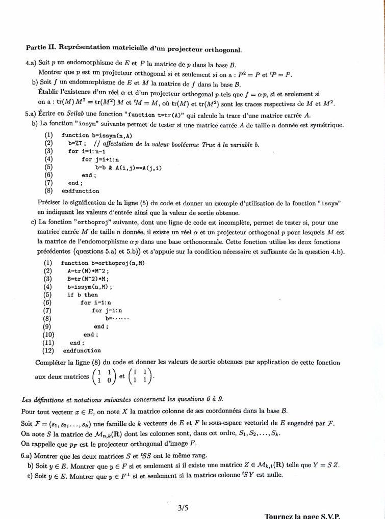 Maths HEC S3