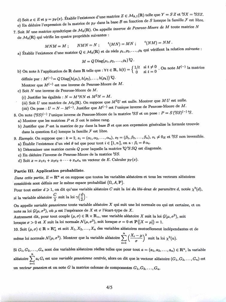 Maths HEC S4