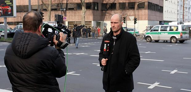 Essai d'allemand : la mondialisation des médias