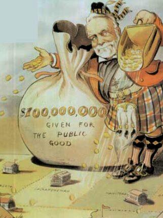 Andrew Carnegie Philanthrope