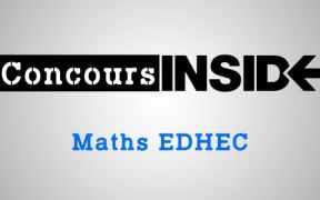 Maths EDHEC 2016