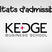 Résultats d'admissibilités KEDGE 2019