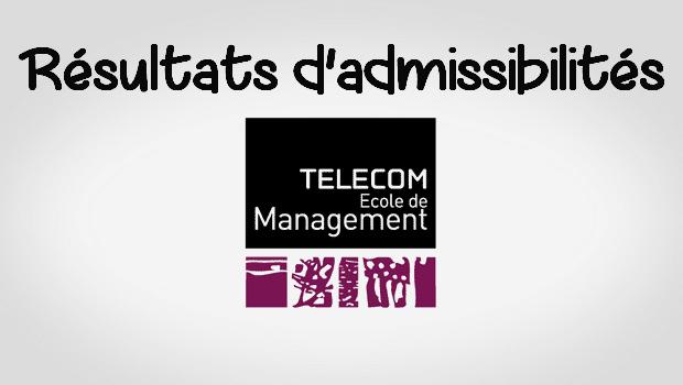 Résultats d'admissibilités Telecom EM 2017