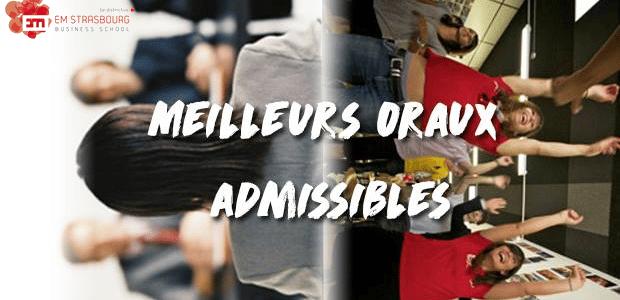 Vote EM Strasbourg – Concours des meilleurs oraux admissibles 2016