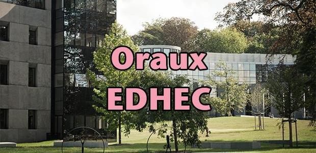 Oraux EDHEC 2016 – Mode d'emploi