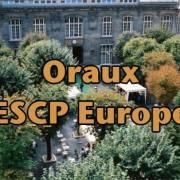 Oraux ESCP Europe 2017 – Mode d'emploi