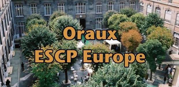 Oraux ESCP Europe 2016 – Mode d'emploi