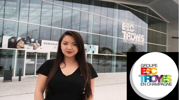 Interview d'Emilie, étudiante à l'ESC Troyes