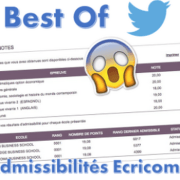 Best of Twitter, réaction des candidats Ecricome 2016