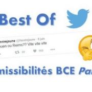 Best of Twitter, réaction des candidats BCE 2016 (1)