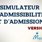 Simulateur d'admissibilités et d'admission – Version 2016