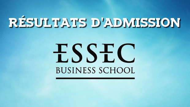 Résultats d'admissions ESSEC 2016