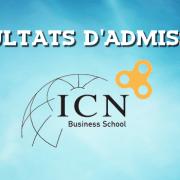 Résultats d'admissions ICN 2016