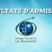 Résultats d'admissions ESC La Rochelle 2016