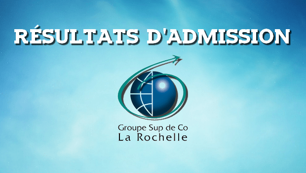 Résultats d'admissions La Rochelle BS 2017