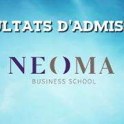 Résultats d'admissions NEOMA 2016