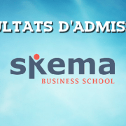 Résultats d'admissions SKEMA 2018