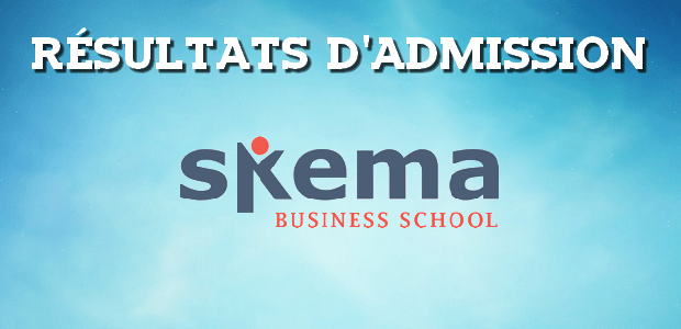 Résultats d'admissions SKEMA 2017