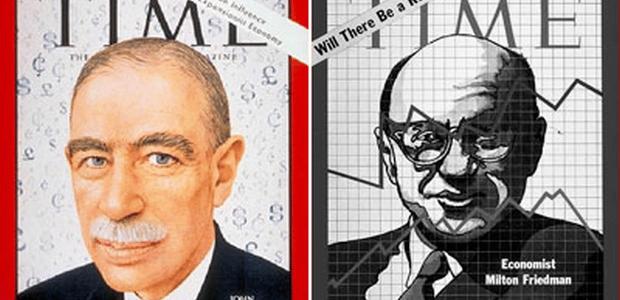 Les grands faits d'armes de John Maynard Keynes
