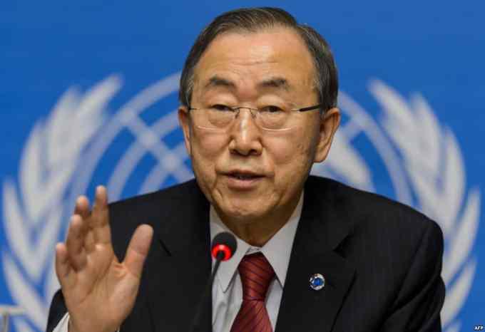 Que souhaiterait Ban Ki-moon avant la fin de son mandat ?