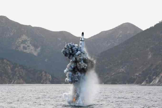 Un missile nord-coréen a été lancé au large du Japon.
