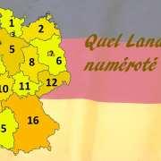 Les Länder allemands
