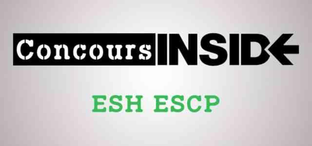 ESH ESCP 2017 – Sujet