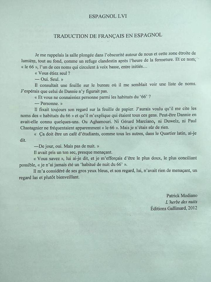 espagnol LV1 2