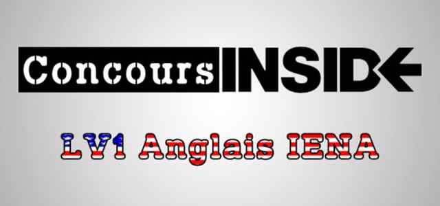 LV1 Anglais IENA 2018 – Sujet