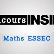Maths ESSEC 2017 ECS – Sujet