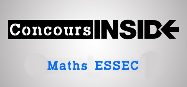 Maths ESSEC 2017 ECS – Corrigé du sujet