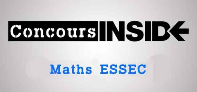 Maths ESSEC 2017 ECE – Sujet
