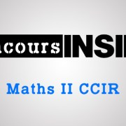 Maths 2 CCIR 2018 – Sujet