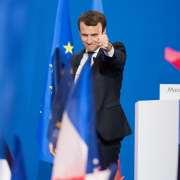 Emmanuel Macron élu président de la République