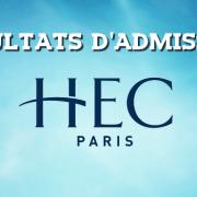 Résultats d'admissions HEC 2017