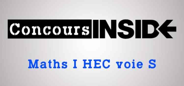 Sujet Maths HEC 2008 ECS