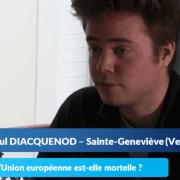 La colle de géopolitique de Paul, étudiant à Ginette