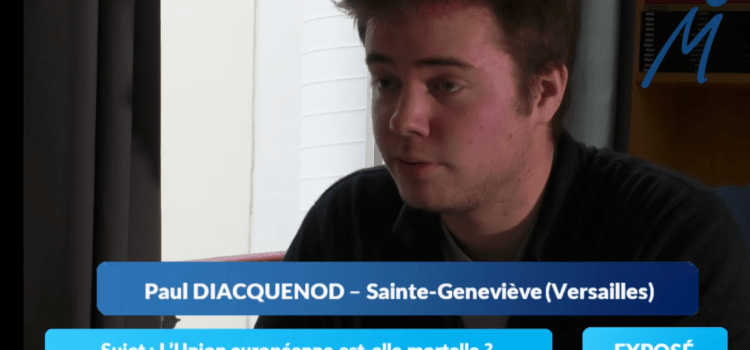 La colle de géopolitique de Paul, étudiant à Ginette