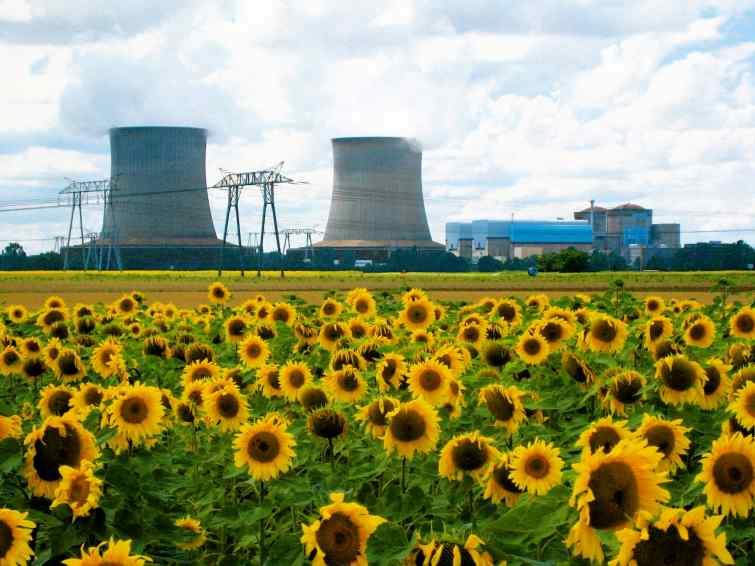 La Chine devrait égaler la capacité électro-nucléaire de la France en...