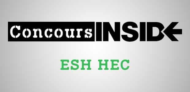 ESH HEC 2019 – Sujet