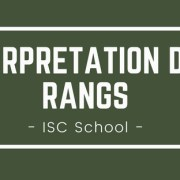 Interpréter son rang ISC Business School