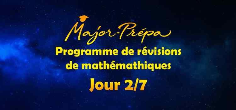Préparer sa rentrée en mathématiques en 7 jours, programme spécial carré ! (Jour 2/7)