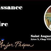 Saint Augustin, La puissance de la mémoire