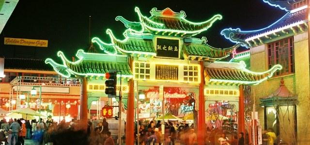 唐人街 Vitrine de la Chine
