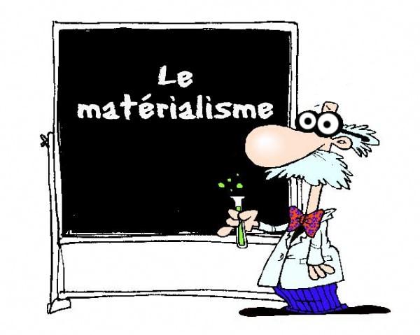 A quelle doctrine oppose-t-on traditionnellement celle du matérialisme ?