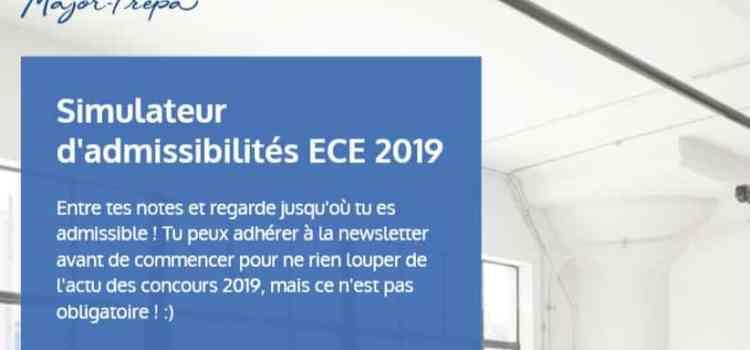 Simulateur d'admissibilités 2019 – ECE