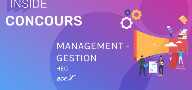 Management-Gestion HEC 2020 – Sujet
