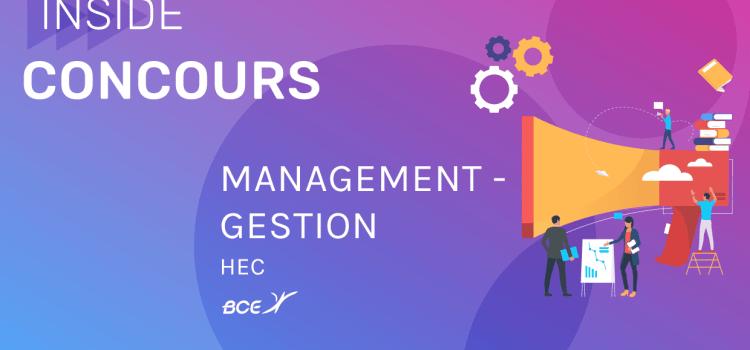 Management-Gestion HEC 2019 – Analyse du sujet